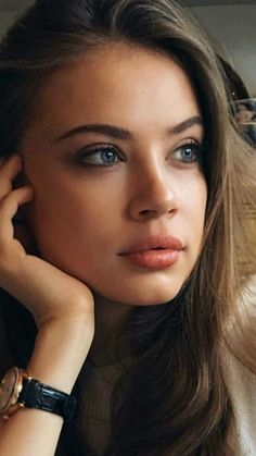 ✗ Xenia Tchoumitcheva ✗ Beautiful Blue Eyes, Stunning Eyes, Pretty Eyes, Beautiful Women, Girl Face, Woman Face, Dark Hair, Brown Hair, Elite Model