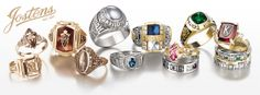 Explore Jostens personalized college and high school class rings, customizable yearbooks, championship rings, graduation products, and more to celebrate big moments this year. Vintage Rings, Vintage Jewelry, High School Rings, High School Memories, Thanks For The Memories, High School Classes, Color Ring, The Good Old Days, We Wear