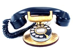 Antique Brass Telephone - 1930's Very Early Unit made by: Wester Electric. Rewired for Modern Phone Jacks! A true collectors piece
