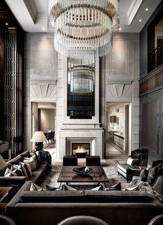 Agatha O I Luxury Interior Design - Luxury Luxury Interior Design, 8 Stunning Interior Design Ideas that Will Take Your House to Luxury Homes Interior, Luxury Home Decor, Modern Interior Design, Interior Architecture, Interior Staircase, Modern Interiors, Luxury Home Designs, Beautiful Interiors, Home Interiors