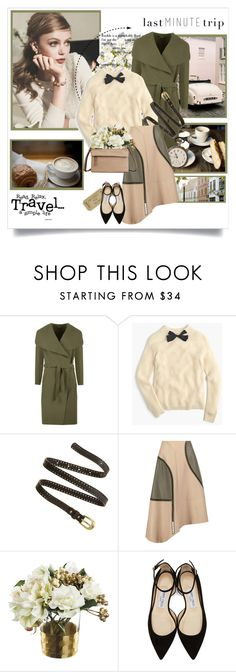 """Last Minute Trip: Frida Gustavsson"" by kimbers-242 ❤ liked on Polyvore featuring WearAll, J.Crew, Madewell, TIBI, Jimmy Choo and Tumi"