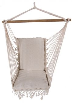 Blue Padded Hammock Chair With Pillows With Stand | Hammock Chair, Pillows  And Free Standing Hammock