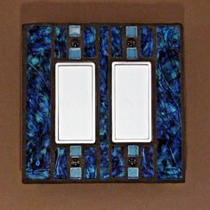 Van Gogh Stained Glass Mosaic Switch Plate, $25.00