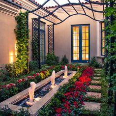 courtyard canopy