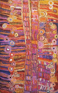 Tjala Arts, Wawiriya Burton, Ngayuku ngura - My Country Aboriginal Art Australian, Indigenous Australian Art, Indigenous Art, Aboriginal Painting, Dot Painting, Aboriginal Dreamtime, Hippie Art, Arte Popular, The Design Files