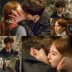 tvN's latest drama series Goblin has revealed photos of stars Lee Dong Wook and Yoo In Na kissing. The beautiful kiss scene was shot back on January 2 in Seoul. Goblin Korean Drama, Korean Drama Best, Korean Dramas, Korean Beauty, Korean Actors, Yoo In Na Goblin, Goblin Kdrama, Kwon Hyuk, Drama Tv Shows