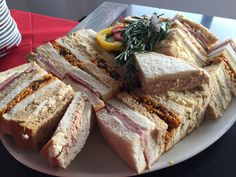 Selection of sandwiches  #Catering #CGCEvents #Food #Barnsley #OakwellStadium #events #venue #Yorkshire
