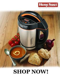 #Shop #now at Home Saaz the Morphy Richard's #Soup #maker and get #creative in the #kitchen and #enjoy the #healthy #nutritional #benefits of home-made fresh #soup.