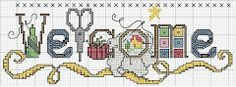MÁS PUNTO DE Cruz: free cross stitch charts