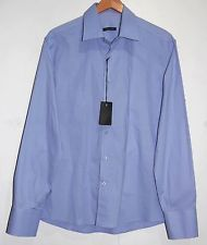 Xagon Man XM Blue Men's Dress Italian Shirt Size 2XL NEW