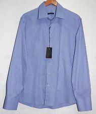 Xagon Man XM Blue Men's Dress Italian Shirt Size 2XL NEW