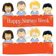 Happy nurses week free printable happy nurses week greeting card happy nurses week m4hsunfo Image collections