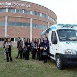 Nación entregó una ambulancia de traslado neonatal a la Maternidad