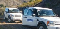 El seguimiento de la línea de contacto entre Karabaj y Azerbaiyán se vio interrumpido debido a disparos azeríes contra la misión de la OSCE.