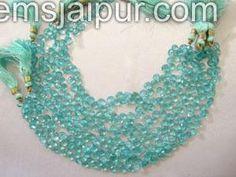 Apetite Briollete Heart Gemstone Beads.