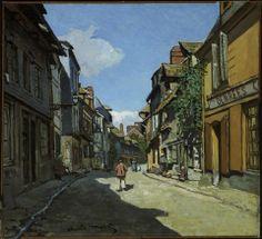 Claude Monet, Rue de la Bavole, Honfleur, about 1864.
