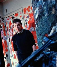 Francis Bacon used the walls of his studio as a palette.