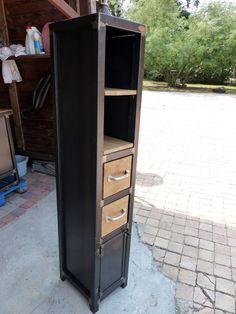 colonne bois métal sur mesure