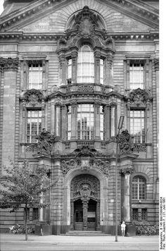 Neues Kriminalgericht Moabit, gebaut 1902-1906
