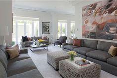 Long living room idea