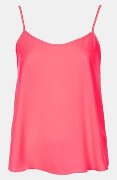 Great color! Topshop 'Pasha' Camisole
