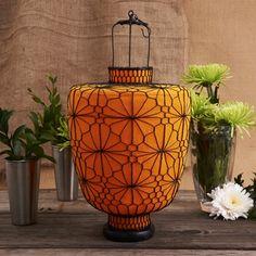 Large Orange Lantern from Matahari