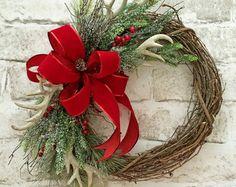 SALE Elf Christmas Wreath Front Door Wreath by AdorabellaWreaths