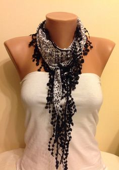 Check out this item in my Etsy shop https://www.etsy.com/listing/207356680/black-floral-scarflace-scarfwomens