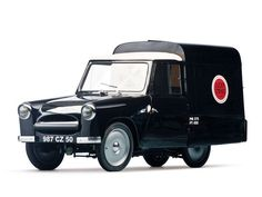 1956 Mochet CM-125Y Camionette Lucky Strike