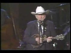 I get chills each time I watch this video... This is Bill Monroe, by himself, singing The Wayfaring Stranger.