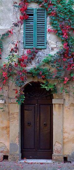 Monticchiello, Siena,Tuscany, Italy