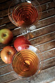Honey Apple Bourbon Martini