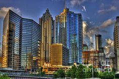Downtown Atlanta by Reid Callaway