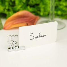 This elegantly designed silver love place card holder is a stunning addition to wedding celebrations.  Better still, they're also a practical wedding keepsake for your guests to use afterwards. A handy and decorative way for displaying photos, cards, notes etc.. Practical Wedding, Wedding Keepsakes, Name Cards, Photo Displays, Thank You Gifts, Celebrity Weddings, Free Gifts, Big Day, Celebrations