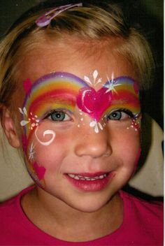girl face painting - Google Search