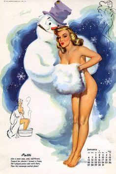 Illustration by Bill Randall, 1952