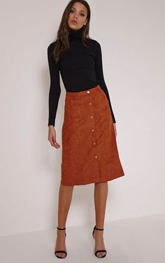 Awesome 20+ Awesome Midi Skirt Design Ideas That You Can Copy Right Now
