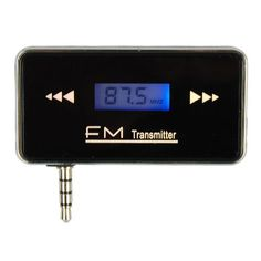 3.5mm Jack Stereo Radio FM Transmitter For Samsung Galaxy S5 I9600 iPhone 4S 5G iPod Touch 5 BUYINSOON http://www.amazon.com/dp/B00HQWF88E/ref=cm_sw_r_pi_dp_e7-1tb0HQ8ZEMYN6
