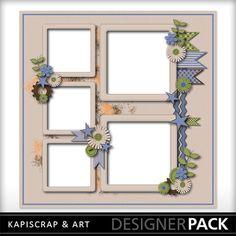 Digital Scrapbooking Kits | SuperDad QP15-(kapi) | Boys, Everyday, Holidays - Father's Day, Love, Memories | MyMemories