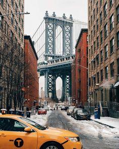 Manhattan Bridge, Brooklyn Bridge, Joe Thomas, New York City Travel, Best Hotels, Travel Inspiration, Nyc, Street, Instagram