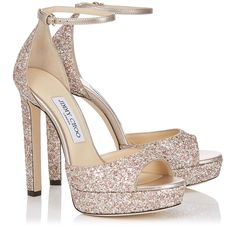 a0db7cdec Jimmy Choo Bridal Collection Cute Sandals, Black Sandals, Glitter Sandals,  Wedding Pumps,