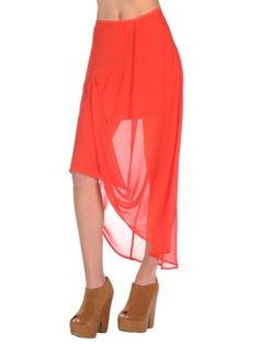 Finders Keepers Womens Burning Up Skirt - Blood Orange - 2 Finders Keepers. $46.00. Save 60% Off!