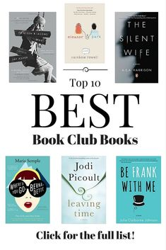 Best Summer Reads of 2016 Best book club picks for your next book chat! A combination of bestseller, mystery, classic, and inspirational. Best Book Club Books, Book Club Reads, I Love Books, New Books, Great Books To Read, Reading Lists, Book Lists, Book Club List, Jena