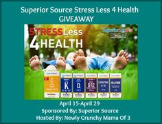 Tackle Everyday Stress With Superior Source Plus GIVEAWAY #SuperiorSource #Partner 4/29 - Newly Crunchy Mama Of 3