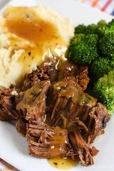 This was SOOO good! Instant Pot Pot Roast and gravy recipe! This was SOOO good! Instant Pot Pot Roast and gravy recipe! Instant Pot Pot Roast, Instant Pot Dinner Recipes, Healthy Dinner Recipes, Roast Beef Instant Pot Recipe, Healthy Food, Chuck Roast Recipes, Pot Roast Recipes, Game Recipes, Gastronomia