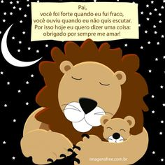 mensagem-dia-dos-pais Special Words, Digital Art, Family Guy, Teddy Bear, Lettering, Movie Posters, Fictional Characters, Facebook, Psicologia