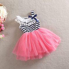 Little Miss Watermelon Sailor Girl