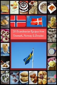 20 Scandinavian Recipes - Explore Scandinavian Cuisine & Culture with recipes from Denmark, Sweden, Norway and more.from breakfast to desserts! World Cuisine Denmark Food, Scandinavian Recipes, Scandinavian Art, Fast Food Menu, Danish Food, Danish Cuisine, Soup Appetizers, Appetizer Recipes, Food Program