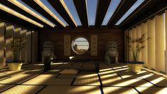 Asian Meditation Room by ~svenndesign on deviantART