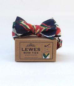 Ikat Vintage Cotton Bow Tie -£29.00 at www.dinamalkova.com